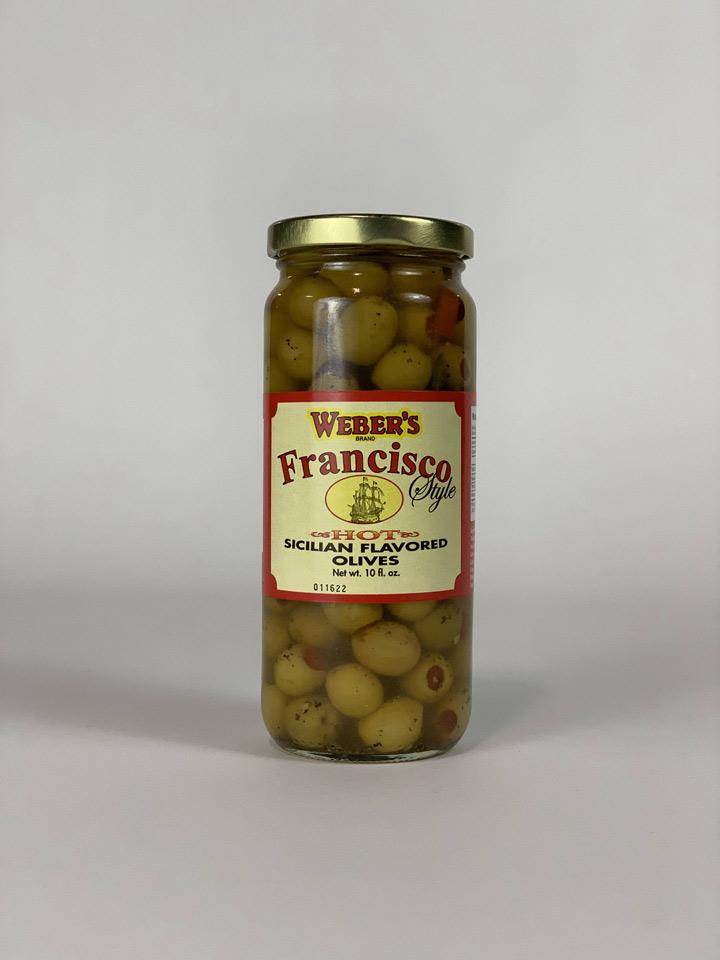 Weber's Hot Sicilian Olives (Subscription)
