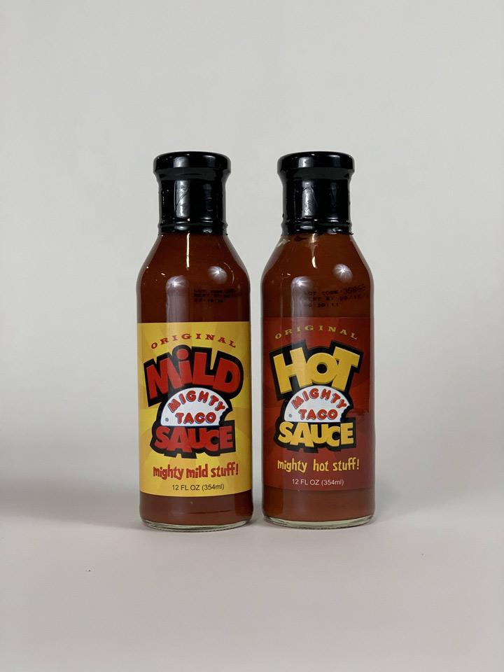 Mighty taco sauce