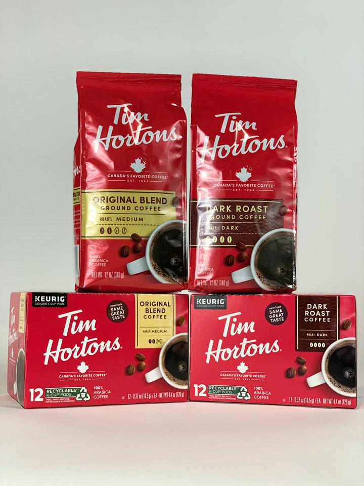 Tim Horton's premium coffee