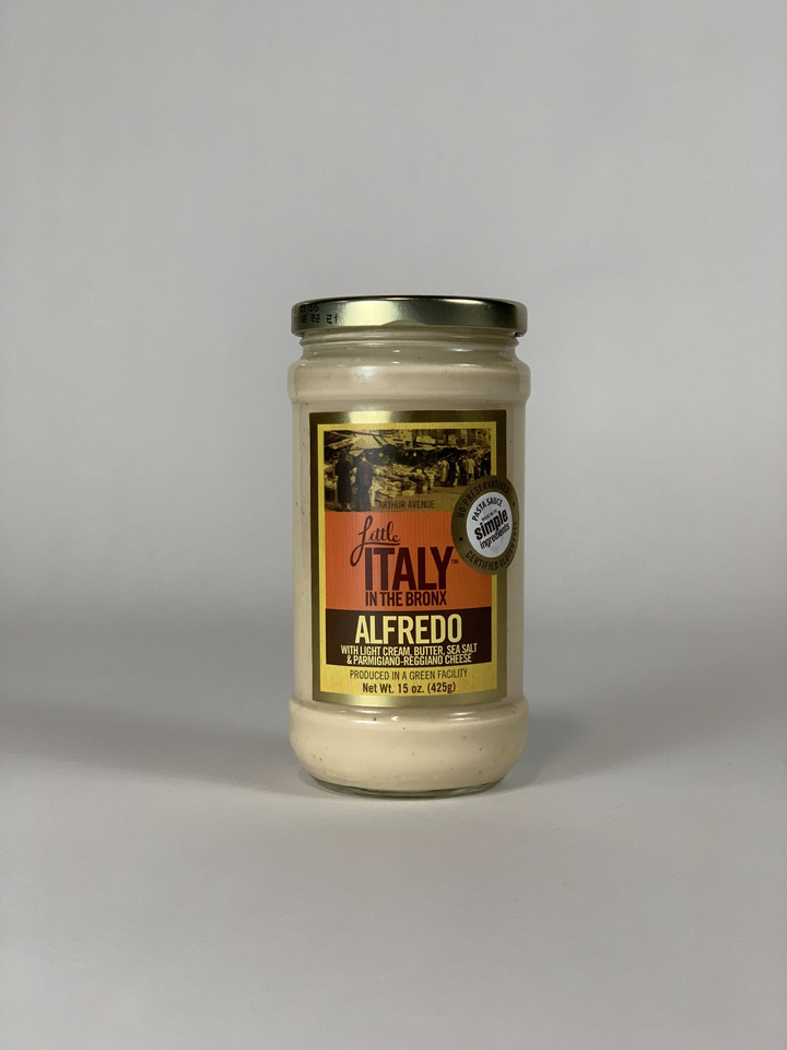 Little Italy in the Bronx Alfredo Sauce
