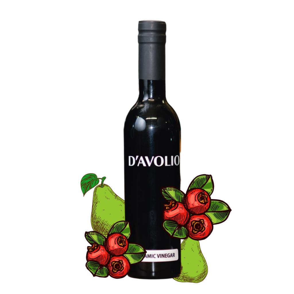 D'Avolio Cranberry Pear Balsamic Vinegar